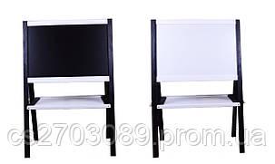 Мольберт 60х40х100 черно-белый, фото 2