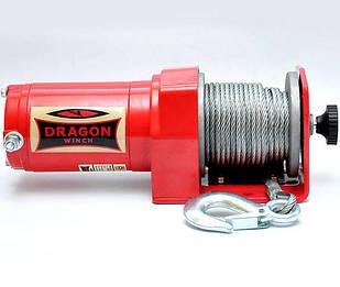 ✅Лебедка электрическая DRAGON WINCH DWM 2000 ST YP  на 0,9т. электролебедка автомобильная 12 вольт