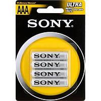 Батарейки Sony 4 шт. блистер (шт.) (шт.)
