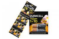 Батарейка Duracell LR-06 MN1500 (12 шт.) 6*2 отрывная (шт.) (шт.)