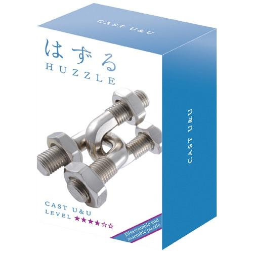 Huzzle U&U 4* Металлическая головоломка Hanayama (Japan)