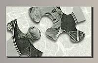 """""""Доллары 4"""" Картина на холсте для интерьера"""
