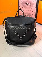 Стильный кожаный рюкзак-сумка, фото 1