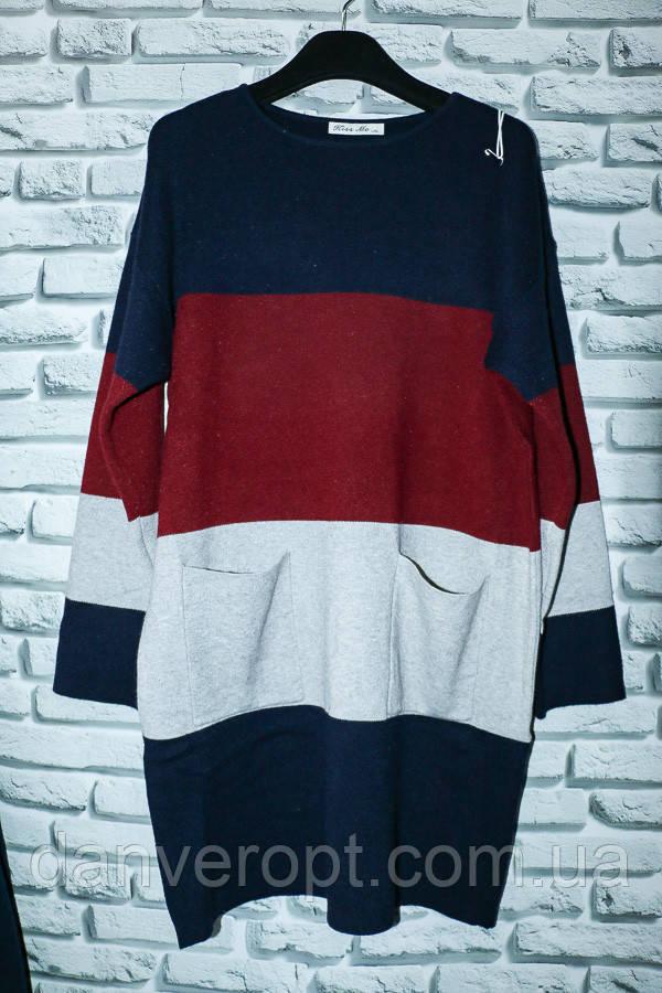 Платье-туника женское модное размер S-XL купить оптом со склада 7км Одесса