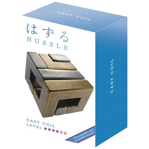 Металлическая головоломка | Huzzle Coil | 4* | Hanayama (Japan)
