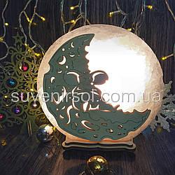 Соляной светильник круглый Мышь