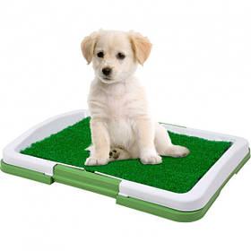 Туалет для собак с имитацией травы Puppy Potty Pad лоток для щенков и кошек