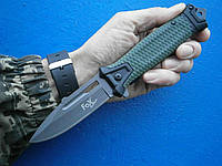 """Нож складной """"Snake"""" оливковый. Fox Outdoor Германия, оригинал."""