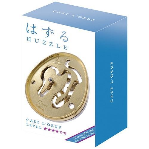 Huzzle L'Oeuf 4* Металлическая головоломка Яйцо Hanayama (Japan)
