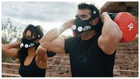 Маска Тренировочная 2-го поколения,  ограничитель дыхания,  Elevation, для Бега, фитнеса,  бокса, хоккея и т.д