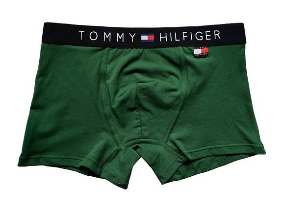 Мужские трусы Tommy Hilfiger (реплика) бирка зеленые, фото 2