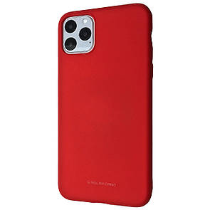 Чехол-накладка Silicone Hana Molan Cano для Apple iPhone 11 Pro Max (red)