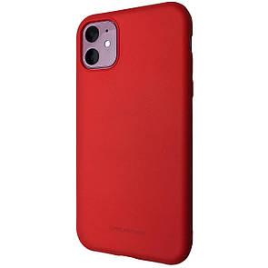 Чехол Silicone Hana Molan Cano Apple iPhone 11 (red)
