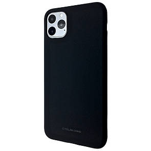 Чехол Silicone Hana Molan Cano Apple iPhone 11 Pro (black)