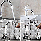 [ОПТ] Насадка-аератор Water Saver кран для економії води. Экономитель води Water Saver, фото 5