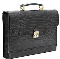 Кожаная портфель папка Manufatto, черный