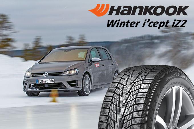 Зимняя шина 215/60R17 96T Hankook Winter I*Cept IZ2 W616