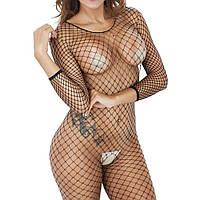 Сексуальй комбинезон Catsuit black,Сексуальное эротическое женское белье