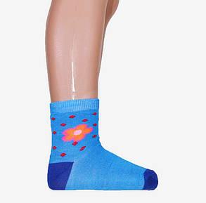 Детские носки с ромашками р.22-26 (C2783/22-26) | 12 пар, фото 2