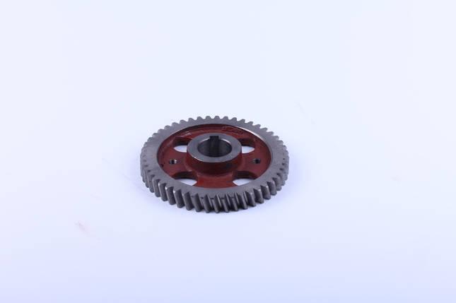Шестерня розподільного валу Z-48 двигуна КМ385ВТ, фото 2