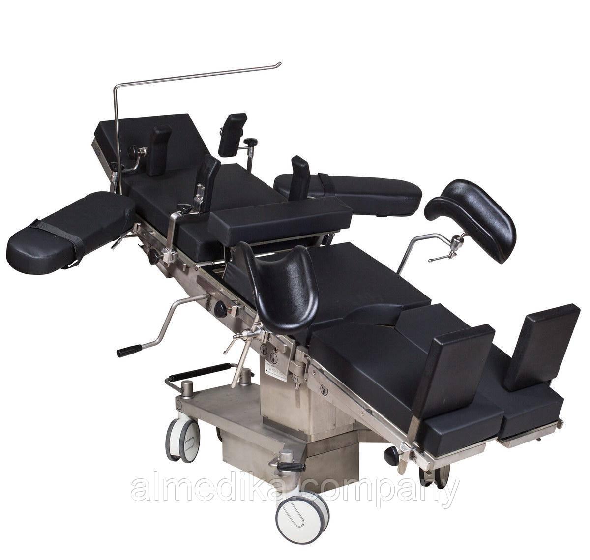 Стол операционный МТ600 (механико-гидравлический, рентгенопрозрачный)
