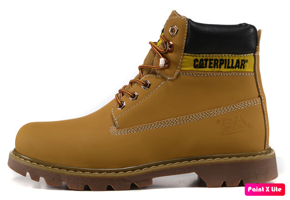 """Женские зимние ботинки Caterpillar """"Ginger"""" Fur с мехом"""