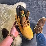 """Женские зимние ботинки Caterpillar """"Ginger"""" Fur с мехом, фото 4"""