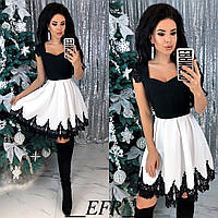 Женское стильное новогоднее платье