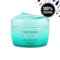 Интенсивный увлажняющий крем для комбинированной кожи лица NATURE REPUBLIC Super Aqua Max Combination Watery Cream, 80 мл