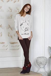 Стильна жіноча піжама з футболкою та  HAYS 19087
