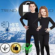 Комплект детского термобелья для мальчика или девочки до - 25°С по норвежской технологии