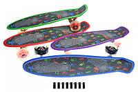 Скейт ВТ-YSB-0072 (колеса со световым эффектом) (шт.)