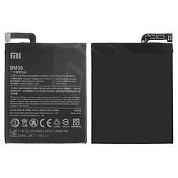Аккумулятор (батарея, АКБ) BM39 для Xiaomi Mi 6, Li-Polymer, 3,85 B, 3350 мАч, оригинал