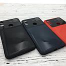 Чехол стекло Totu Arte Geometry Xiaomi Redmi Note 5 (dark blue), фото 2