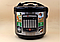 Мультиварка с фритюрницей и йогуртницей Domotec MS-7725  45 программ 5 л 900W Silver Steel, фото 2