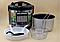 Мультиварка с фритюрницей и йогуртницей Domotec MS-7725  45 программ 5 л 900W Silver Steel, фото 3