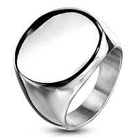 Женский перстень из стали, р. 17.5, 18, 19