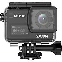 Action Camera SJCAM SJ8 Plus с разрешением Native 4K и полной комплектацией (Черный)