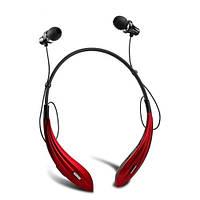 Беспроводные Bluetooth наушники Awei A810BL с шейным ободом (Красный)