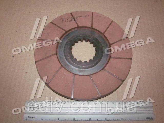 Диск тормозной МТЗ 80,82 (RIDER) 70-3502040-03