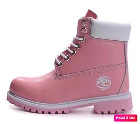 "Женские зимние ботинки Timberland Сlassic Boots ""Pink"" с мехом"