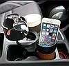 Многофункциональный Органайзер холдер для стаканов автомобильный 5в1 Car holder 5in1. Лучшая Цена!, фото 8