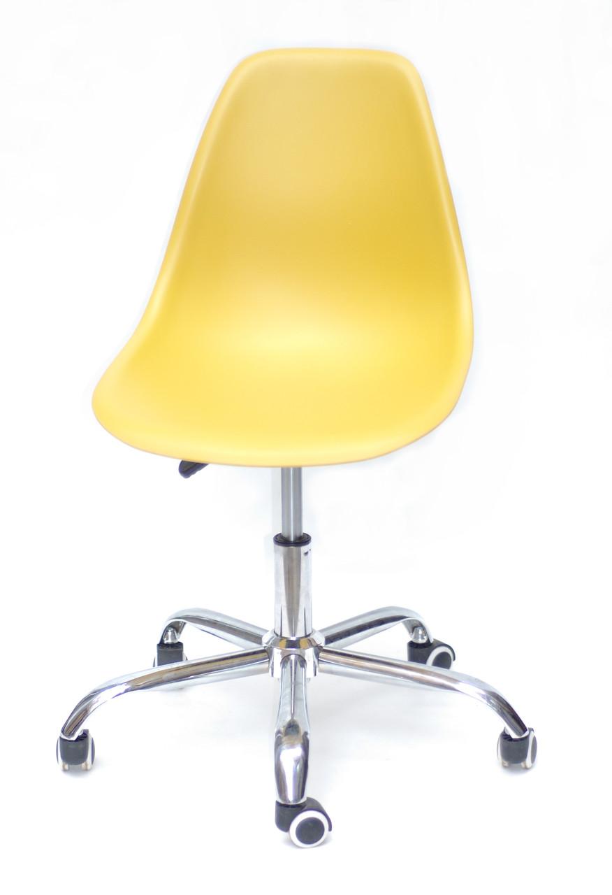 Кресло мастера Nik Office, желтое