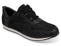 Спортивная женская обувь, кроссовки черного цвета!