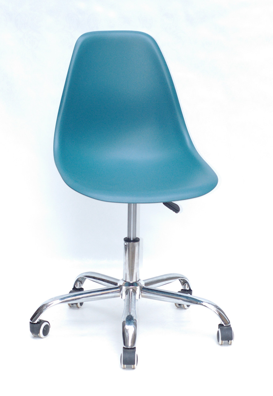Кресло мастера Nik Office, бирюзовое
