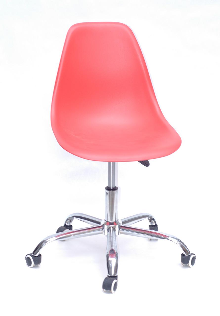 Кресло мастера Nik Office, красное