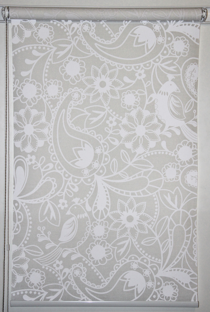 Готовые рулонные шторы 1250*1500 Ткань Ассоль (Квиты 3050)