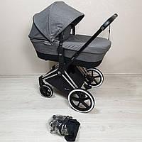 Детская коляска Cybex Priam Lux Grey Melange Сайбекс