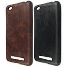 Чехол кожа Sitched Xiaomi Redmi 4A (black), фото 3