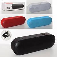 Аксессуары MK 3794 портативная колонка для телефона, аккум., Bluetooth, MP3, USB, 4 цвета, кор., 23-7,5-9см